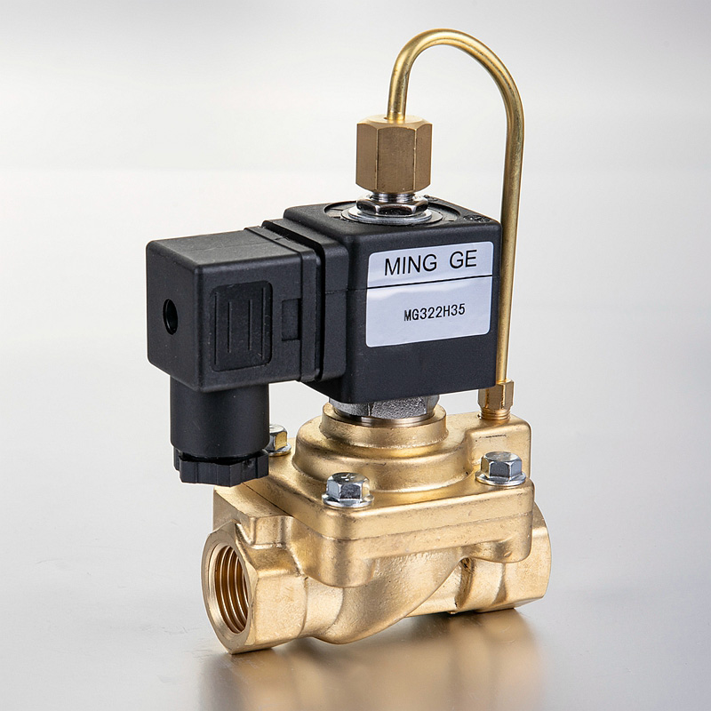 MG322H series Normally open High pressure 2 way valve